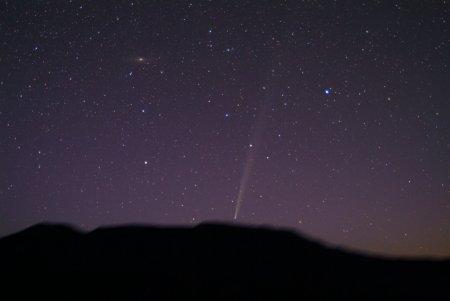 Восход кометы Бредфилда